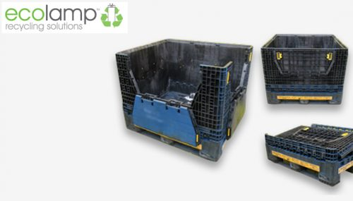 Used Folding Magnum M16 storage unit purchase, WEEE waste recycling flourescent tube storage solutions