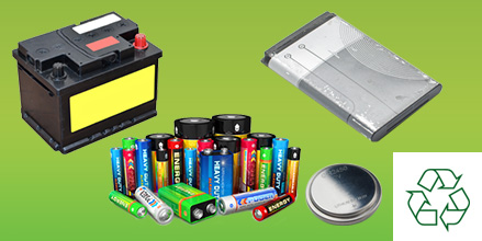 battery recycling collection service weee waste compliant nickel metal hydride lead acid ni cad lithium batteries car household alkaline collection service UK