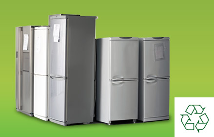 commercial and domestic fridge disposal and recycling WEEE waste regulations UK